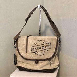 Handbags - Myra bag Hand Made Messenger Bag S-0961